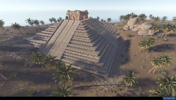 Rust Custom pyramide